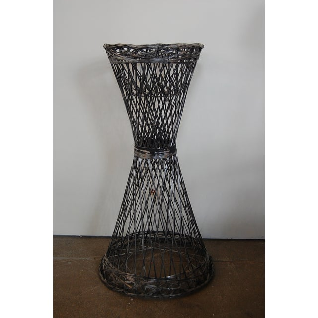 Mid-Century Spun Fiberglass Floor Plant Stand - Image 2 of 6