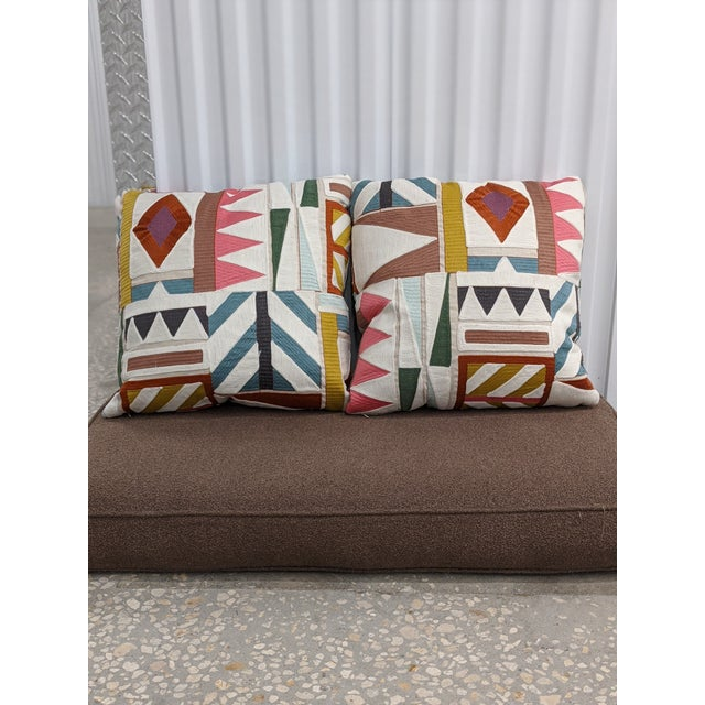 2020s Pierre Frey Decorative Pillows - a Pair For Sale - Image 5 of 5