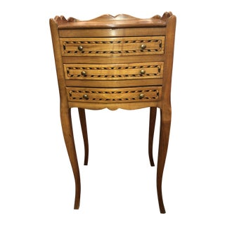 Early 19th Century French Fruitwood 3 Drawer Commode For Sale