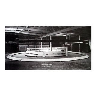 Bruce Nauman_Installation at Leo Castelli's_1978_Offset Lithograph For Sale