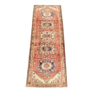 "Vintage Persian Karajeh Runner - 3'6""x10'2"" For Sale"