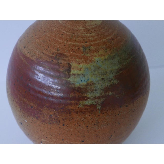 1973 Mid-Century Studio Pottery Vase For Sale In Palm Springs - Image 6 of 7
