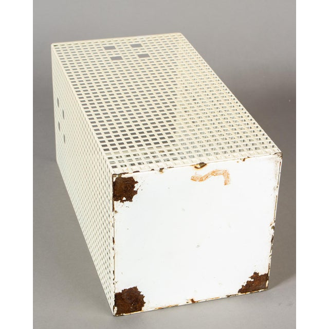 1960s Josef Hoffmann Vienna Secession Umbrella Stand Waste Paper Basket For Sale - Image 5 of 6