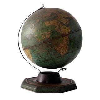 1930s World Globe For Sale