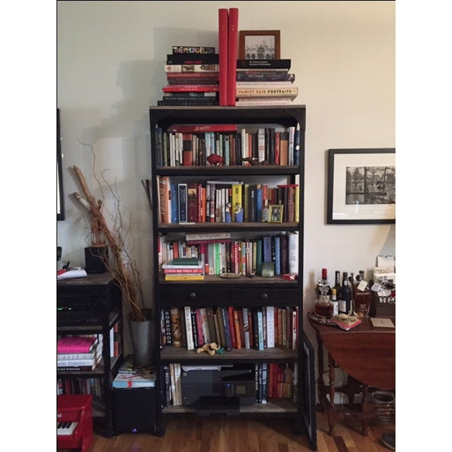 Anthropologie Anthropologie Decker Tall 5-Shelf Bookcase For Sale - Image 4 of 5