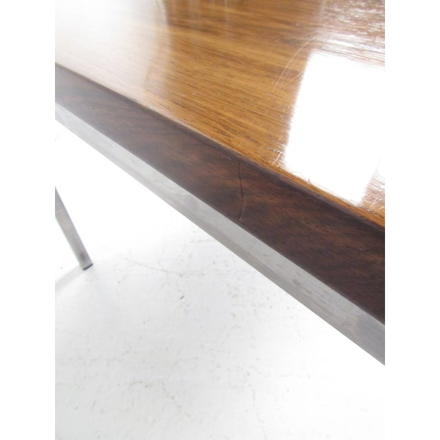 Milo Baughman Style Coffee Table For Sale - Image 9 of 12