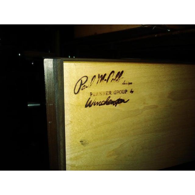 Wood Mid-Century Modern Paul McCobb Desk For Sale - Image 7 of 7
