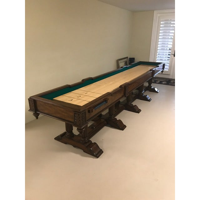 Collector's item Maitland Smith Shuffleboard Game Table (No Pucks Included) MSRP $16,500 Aged Regency Finish, Maple Game...