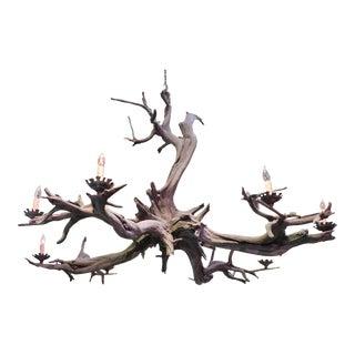 Bronze Driftwood Manzanita Chandelier