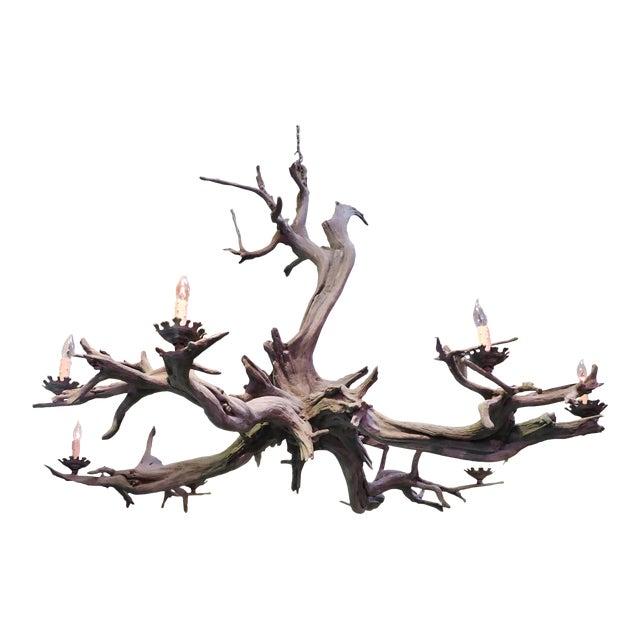 Bronze Driftwood Manzanita Chandelier - Image 1 of 6