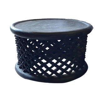 DAfrican Bamileke Spider Stool/Table For Sale