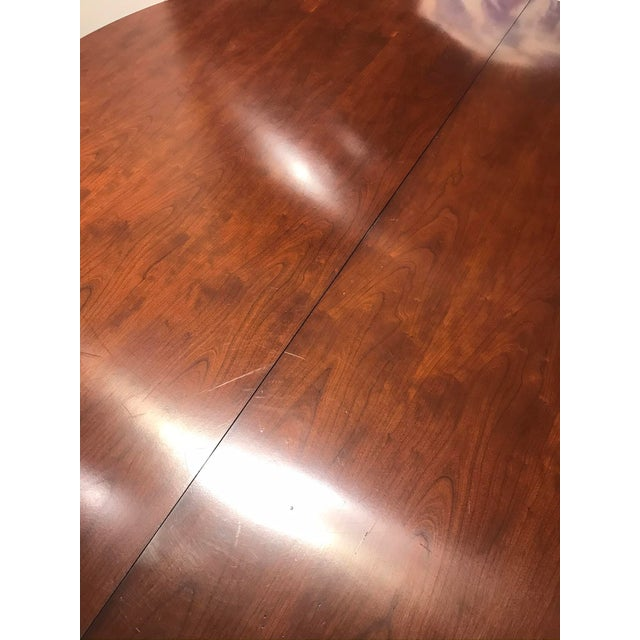 Traditional Hickory Chair Choate Dining Table For Sale In Detroit - Image 6 of 12