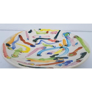 "Colorful ""Warms"" Design Decorative Bowl. Preview"