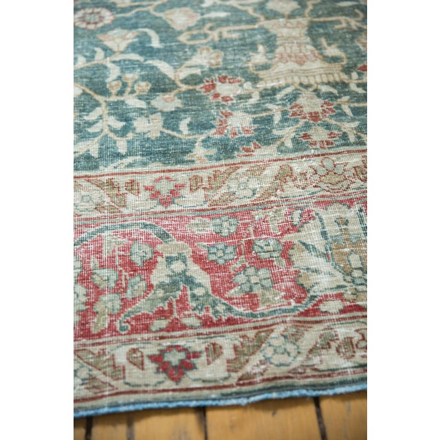 "Vintage Distressed Tabriz Carpet - 8'1"" X 11'4"" For Sale In New York - Image 6 of 13"