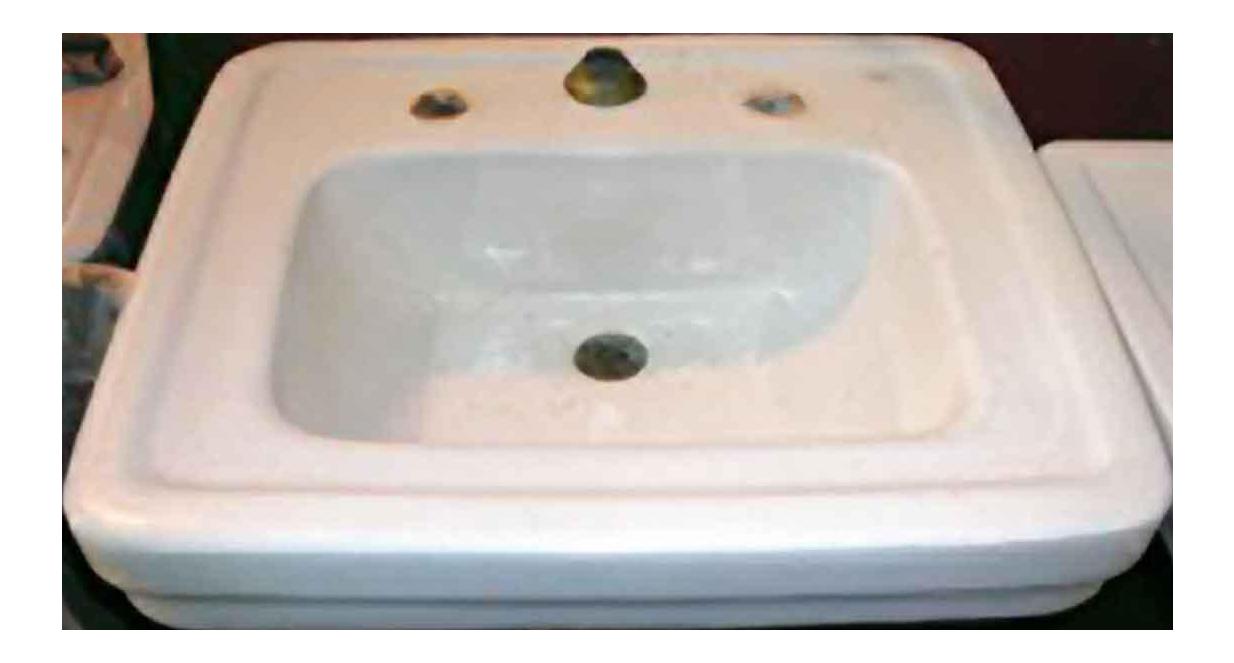 Porcelain Pedestal Sink U0026 Fluted Base
