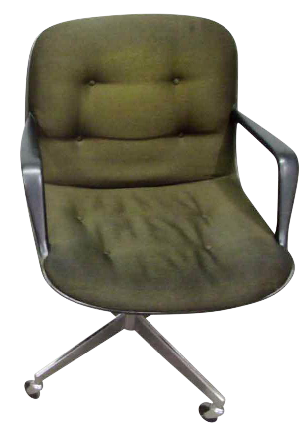 rolling office chair. vintage steelcase rolling office chair