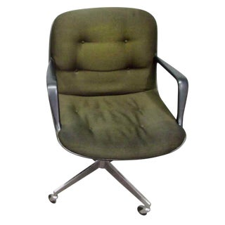 Vintage Steelcase Rolling Office Chair For Sale