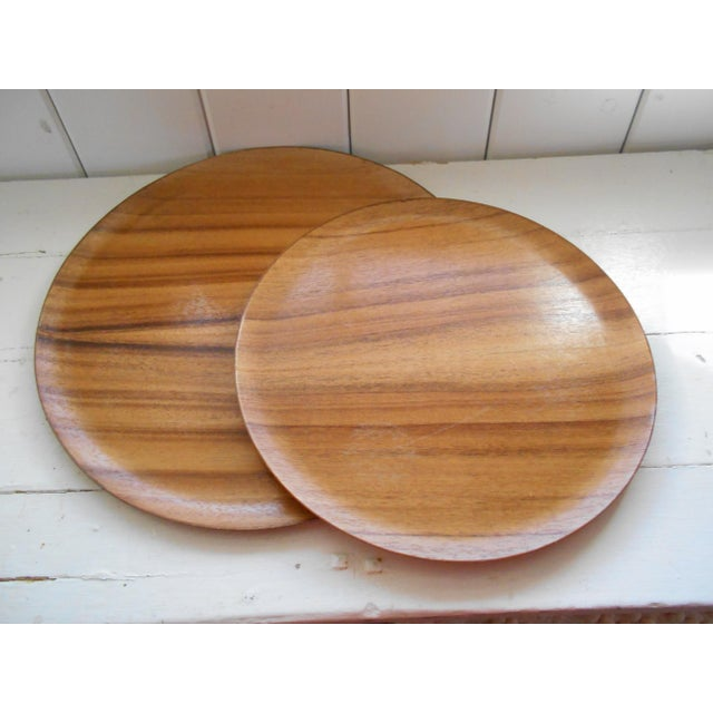 Monkeypod Wood Trays - a Pair - Image 2 of 7