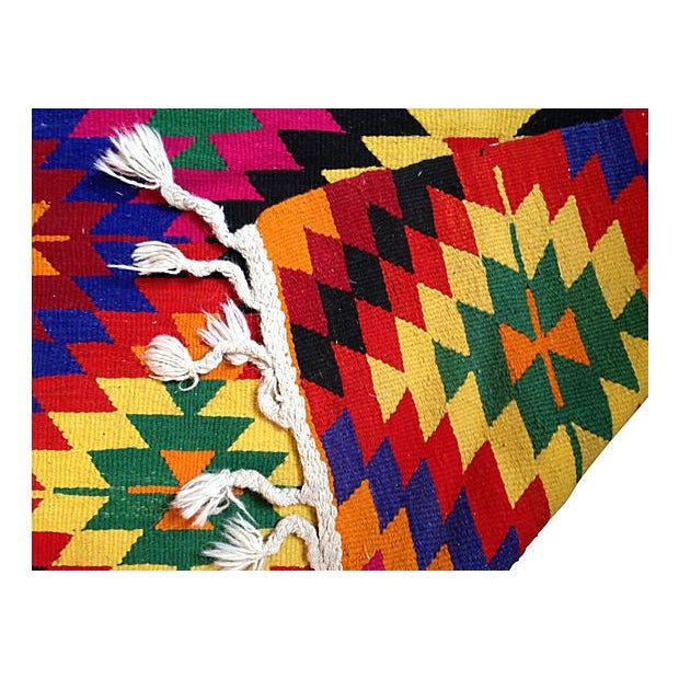 Bright Diamond Kilim Rug - Image 2 of 2