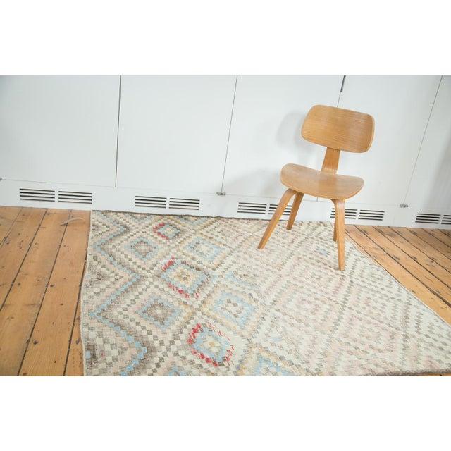 "Vintage Oushak Distressed Square Rug - 5'4"" X 5'5"" - Image 2 of 7"