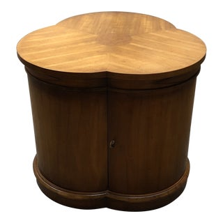 20th Century Traditional Clover Shape Side Table