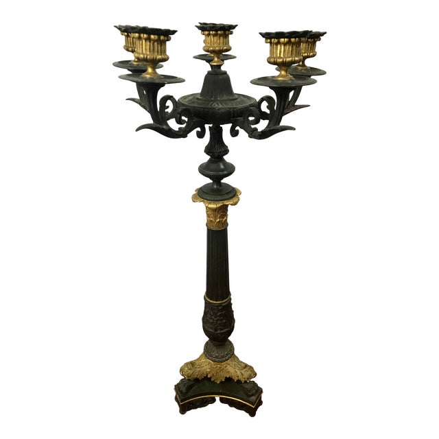 French Charles X Candelabra For Sale