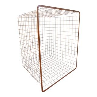 Industrial Copper Metal Wire Storage Basket For Sale