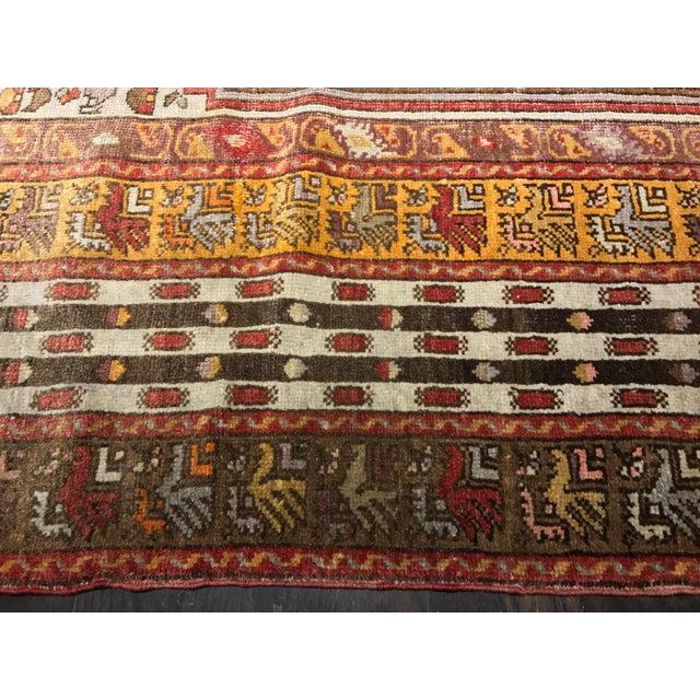 "Bellwether Rugs Vintage Turkish Oushak Area Rug - 4'6"" X 7' - Image 5 of 11"