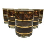 Image of 1970s Georges Briard Glasses in Original Box - Set of 6 For Sale