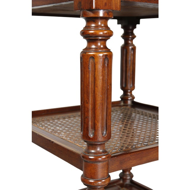 Matching Charles X Mahogany End Tables - a Pair For Sale - Image 9 of 12