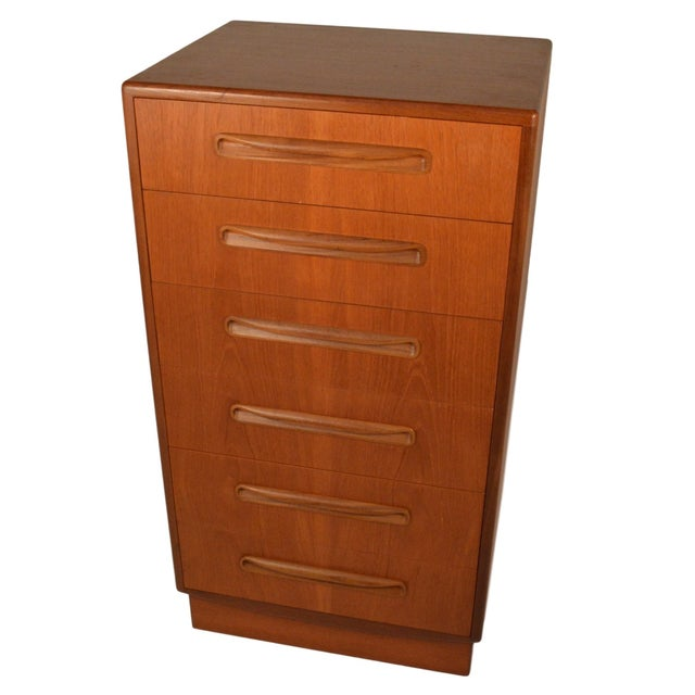 Mid-Century Fresco Teak Highboy Dresser by G Plan - Image 1 of 4