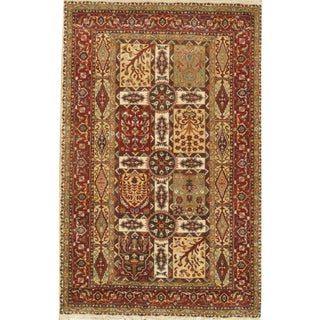 Pasargad N Y Tabriz Design Lamb's Wool Rug - 3′ × 5′1″ For Sale