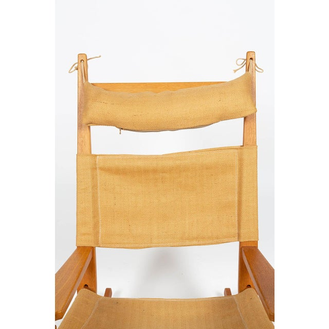 Keyhole Rocking Chair by Hans Wegner For Sale - Image 11 of 13