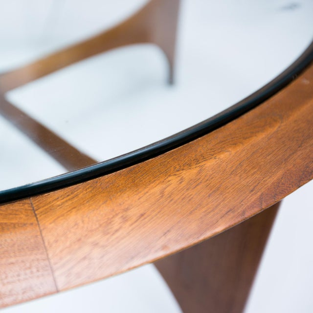 Lane Mid-Century Modern Round Coffee Table - Image 5 of 9