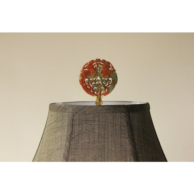 Frederick Cooper Floral Vase Table Lamp - Image 4 of 7