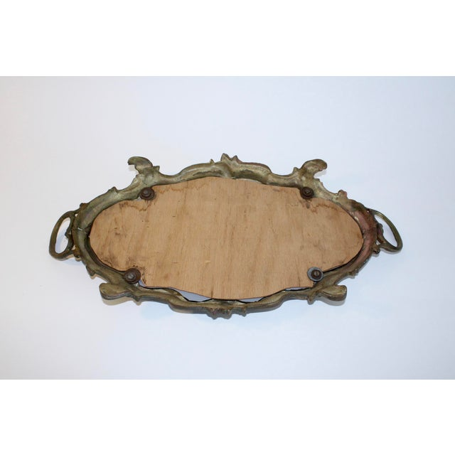 Antique French Louis XV Mirrored Tray - Image 6 of 7
