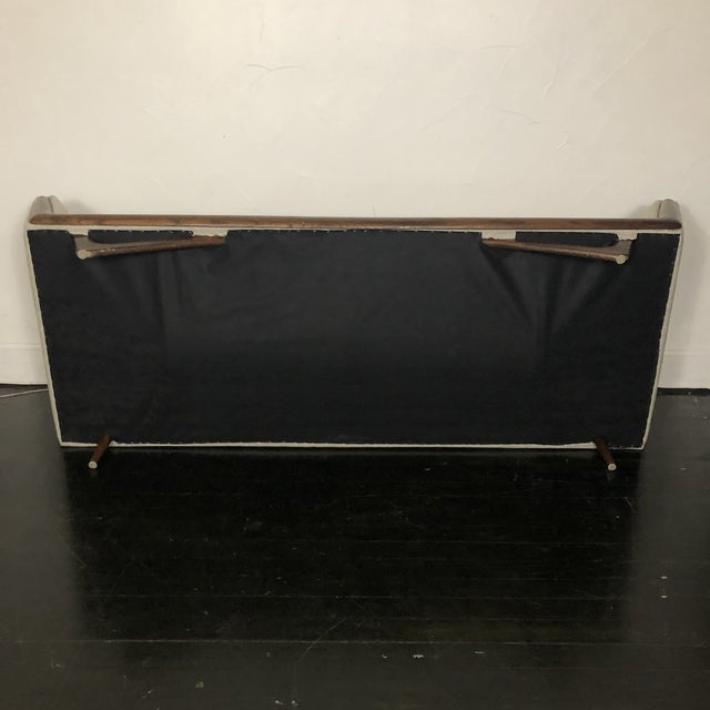 1960s Restored Adrian Pearsall Gondola Sofa For Sale - Image 12 of 13