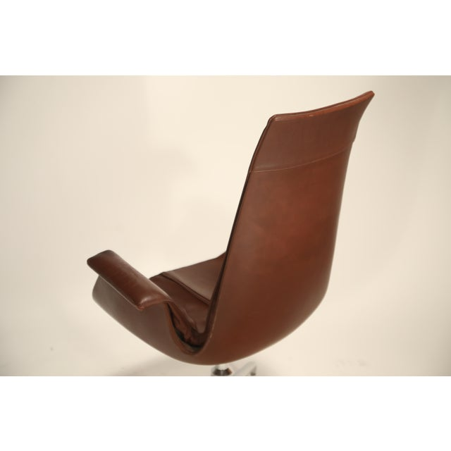Metal Fk 6725 'Bird' Chair by Preben Fabricius and Jorgen Kastholm for Alfred Kill For Sale - Image 7 of 13