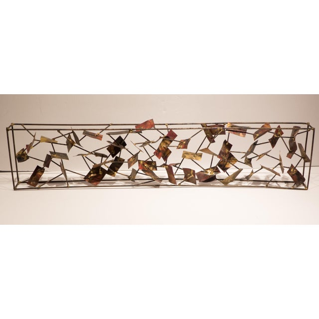 1970s Silas Seandel Panel Sculpture For Sale - Image 5 of 8