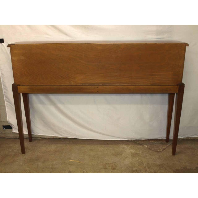 Carved Walnut French Console For Sale - Image 4 of 10