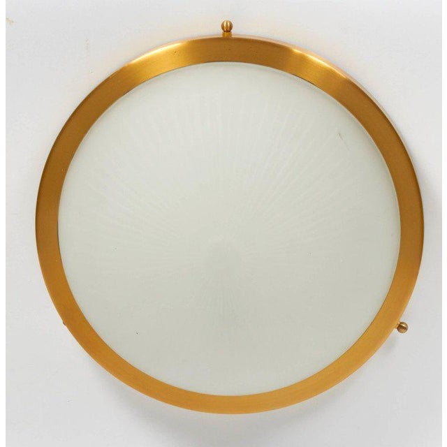 Mid-Century Modern Perzel Ceiling Fixture For Sale - Image 3 of 4