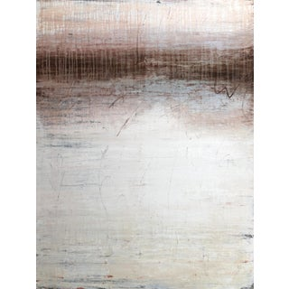 """""""1379 Brown White Exclusive"""" Minimalist Painting For Sale"""