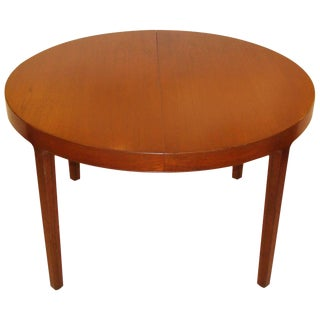 1950s Vintage Ole Wanscher Dining Table For Sale