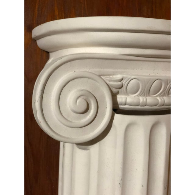 Contemporary 1980s Vintage Greek Column Wall Sconce For Sale - Image 3 of 7