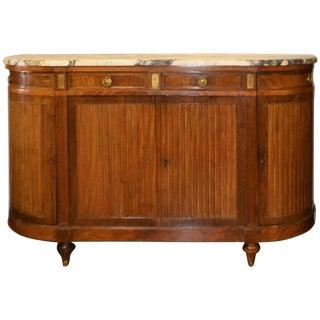 Circa 1900 French Mahogany Buffet