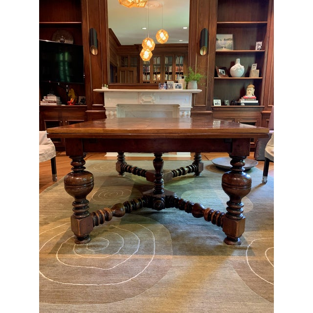 19th Century French Draw Leaf Table For Sale - Image 4 of 9