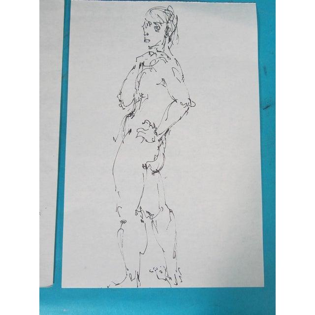 Male Nude Studies - Set of 4 - Image 4 of 6