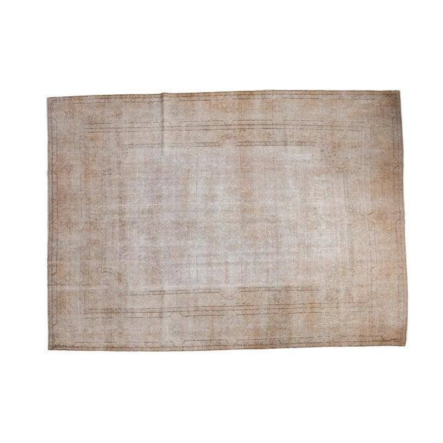 """Distressed Sivas Carpet - 9'4"""" X 12'10"""" - Image 1 of 7"""