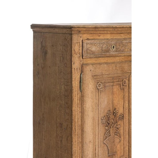 Late 19th Century 19TH CENTURY BLEACHED OAK BUFFET For Sale - Image 5 of 10