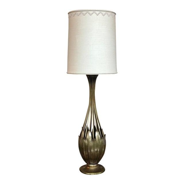 Hans Grag Bronze Table Lamp For Sale